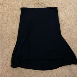 Old navy fold over top skirt black large